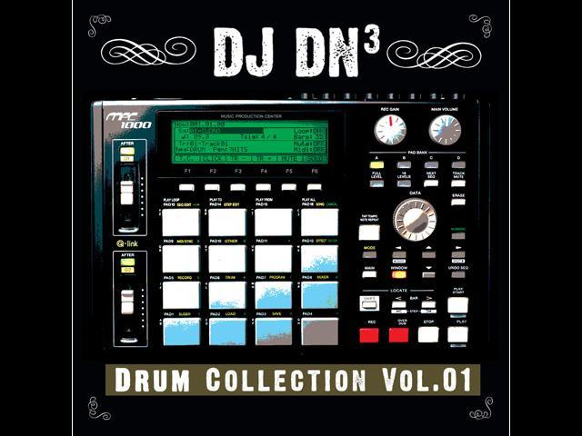 "DJ DN3 ""Drum Collection Vol.01″ Exclusive Release by Big Noise MPC ~ Hip-hop Drums"