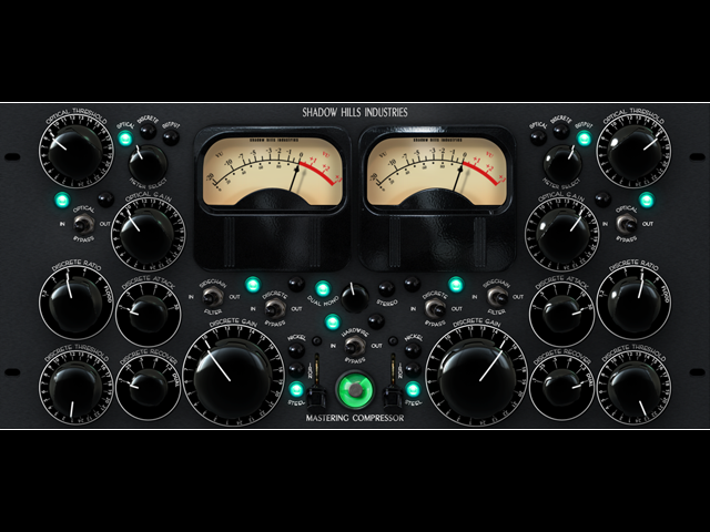 "Shadow Hills ""Mastering Compressor"" by UAD ~ Revered Audio Compressor Plug-in"