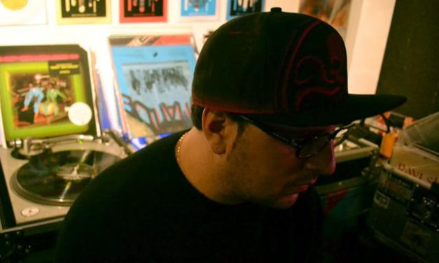 """New York Hip-hop Producer """"Ray West"""" Of Red Apples 45 Record Label"""