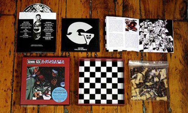 "GZA Liquid Swords Album Re-Issue ""The Chess Box"" (2 Audio CD's & Chess Set)"