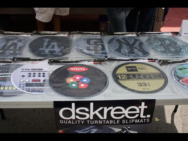 High Quality Dj Slipmats just dropped from Dskreet
