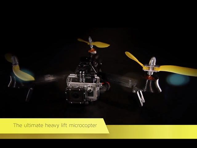 Mini Camera-Carrying Helicopter Drone Takes Off on Kickstarter