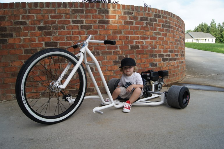 Motorized Big Wheel Drift Trike speaks to your inner child