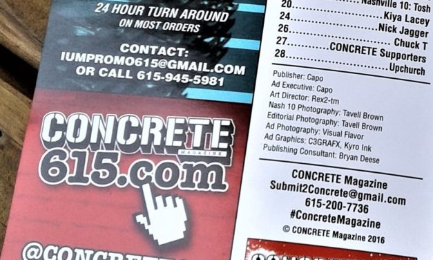Nashville's Concrete Magazine Editor In Chief Interview