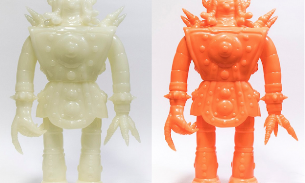 ABOMINATION DIETY GUARDIANS ONU & HIDRA BY P.H.A.S.E. 2 X UNBOX INDUSTRIES IN CLASSIC & ORANGE GID EDITIONS