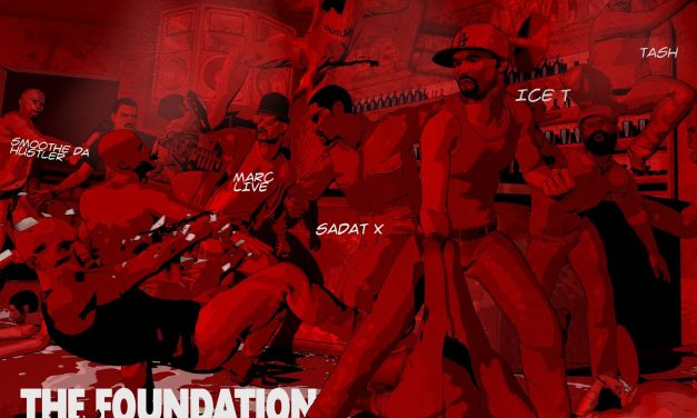 The Foundation album delivers hip-hop legends rhyming over world class beats