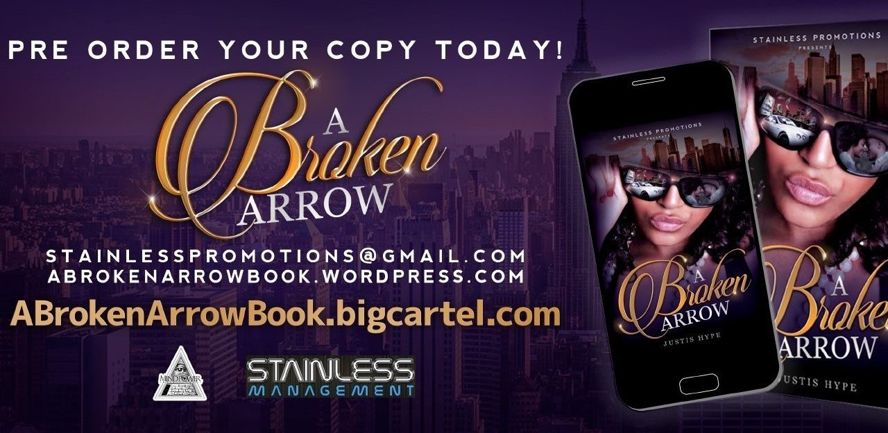"Justis Hype's New Book ""A Broken Arrow"" Interview"