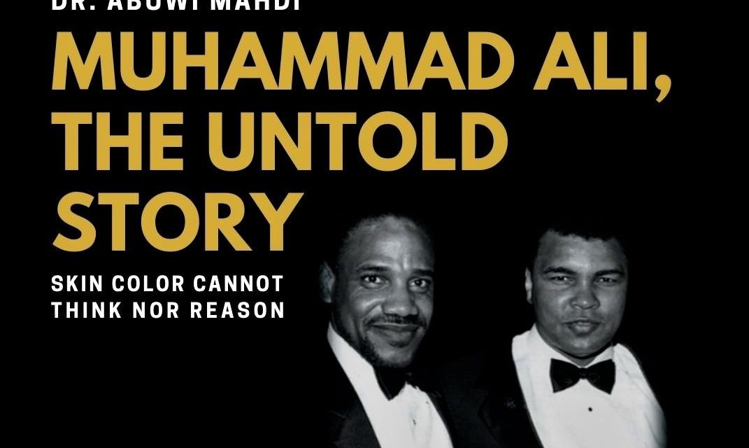 'Muhammad Ali: The Untold Story' Virtual Book Release…