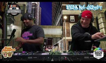Fred Da Great & DJ Rukiz (the Blend Compadres) Live Mixtape – 2 DJ's / 4 Tables
