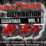 "WHO?MAG Distribution Essentials"" Vol. 1 & 2 ft. KRS-One, Joe Budden, Canibus, Kool Keith, The Force M.D.s"