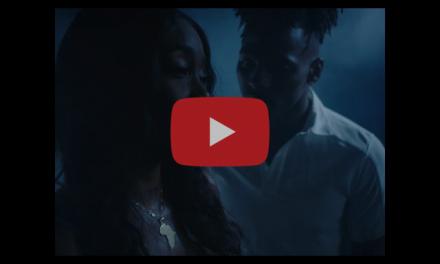 "Rapper/Artist Racquel Jones Paints Original Piece for ""Hurt"" Video"