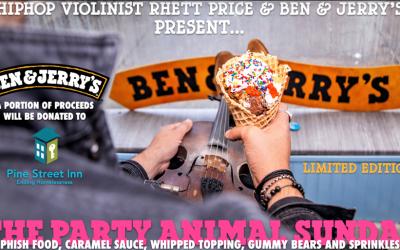 Rhett Price x Ben & Jerry's collab – Party Animal [Audio]